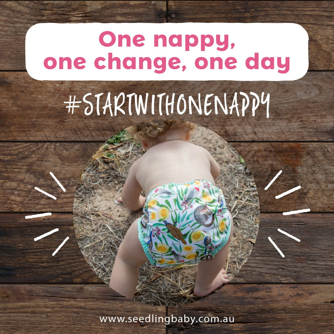 #startwithonenappy - The Impact of One Cloth Nappy a Day