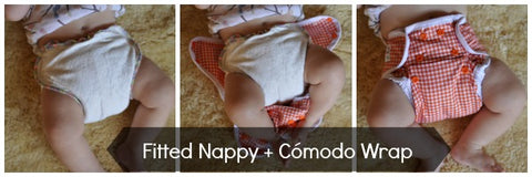 Cómodo Wrap by Seedling Baby - 4 Ways in Pictures