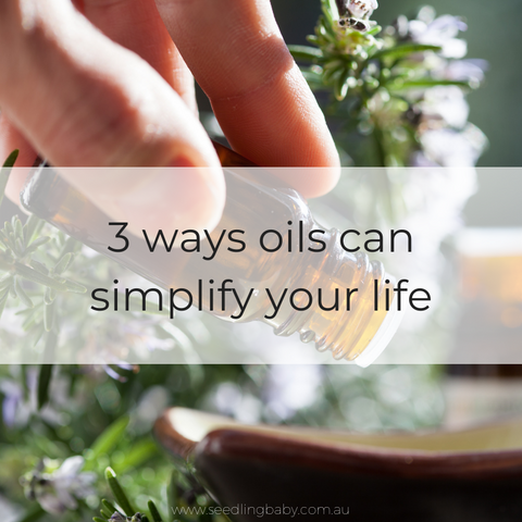 one of my favourite ways to simplify the parenting journey is with essential oils.