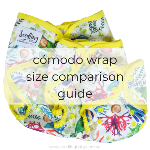 Cómodo Wrap Nappy Cover Size Comparison Guide