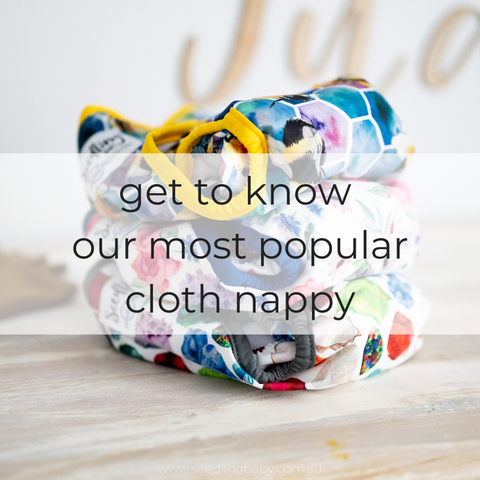 Clever design meets high performance. Meet the Multi-fit Pocket Nappy. Our pocket-style nappy is simple to use and offers your little one all the comfort benefits of a disposable with none of the waste.