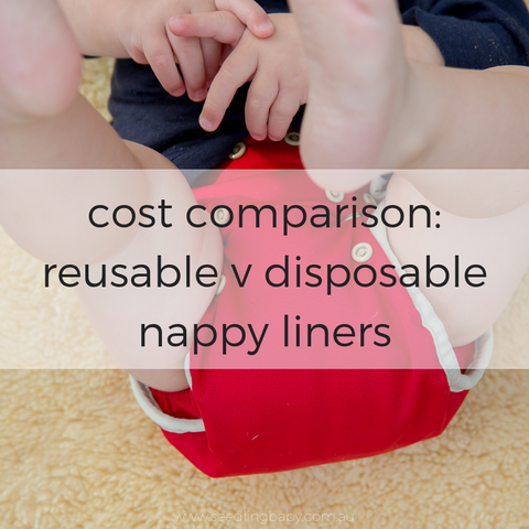 Cost Analysis of Reusable and Disposable Nappy Liners