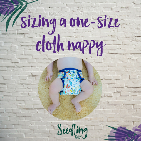 Fitting One-Size-Fits-Most Cloth Nappies