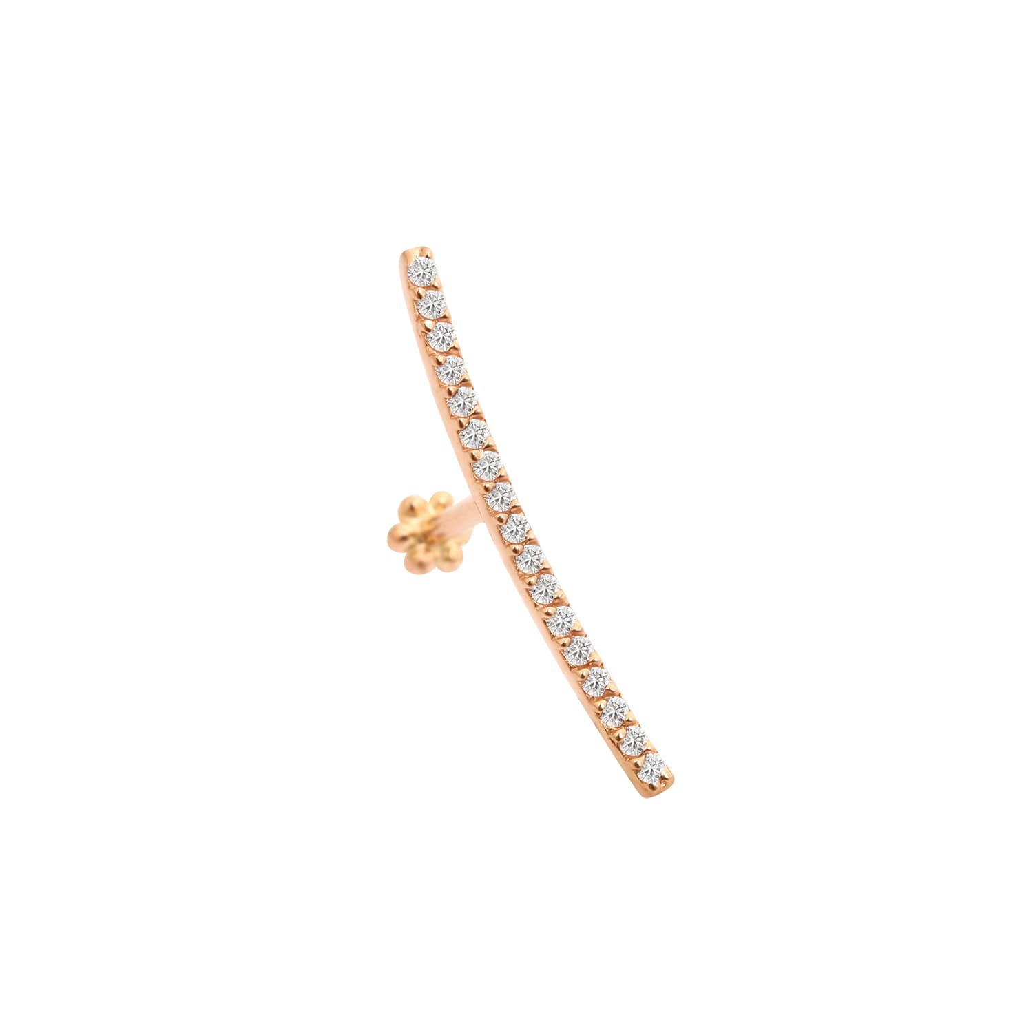 14K LINE THREADED STUD PIERCING
