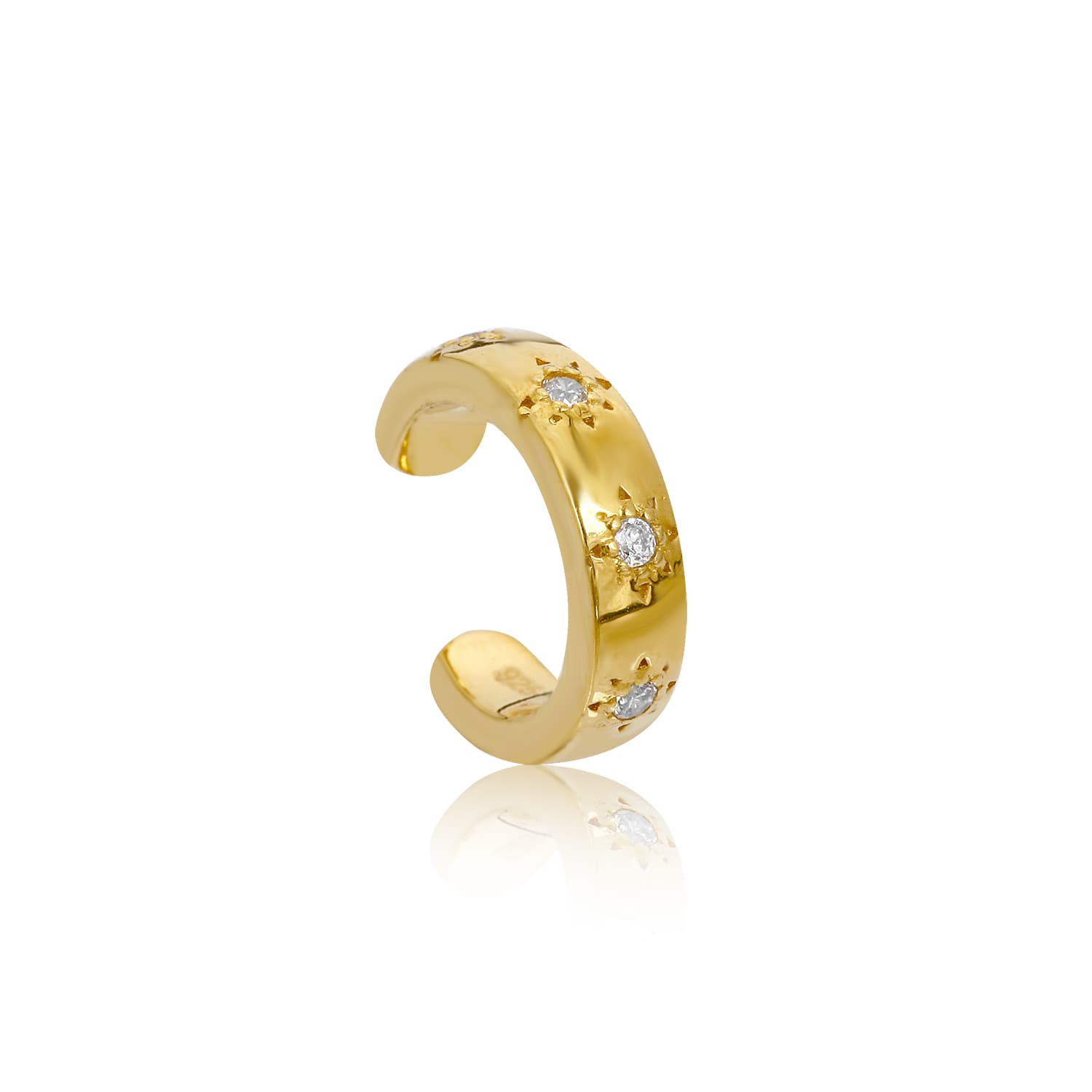 24 carat gold plated silver earcuff models