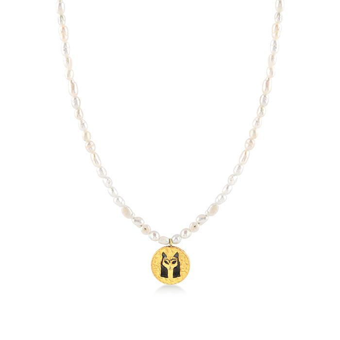 BAST PEARL NECKLACE