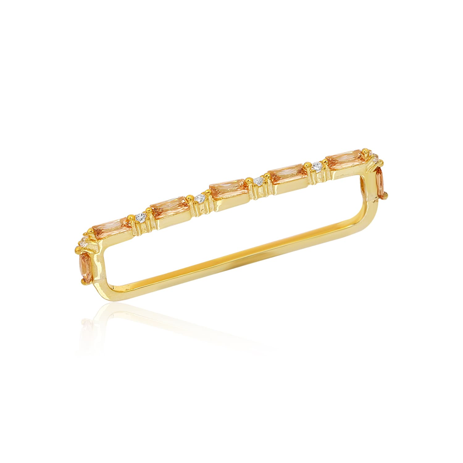 gold plated earhat