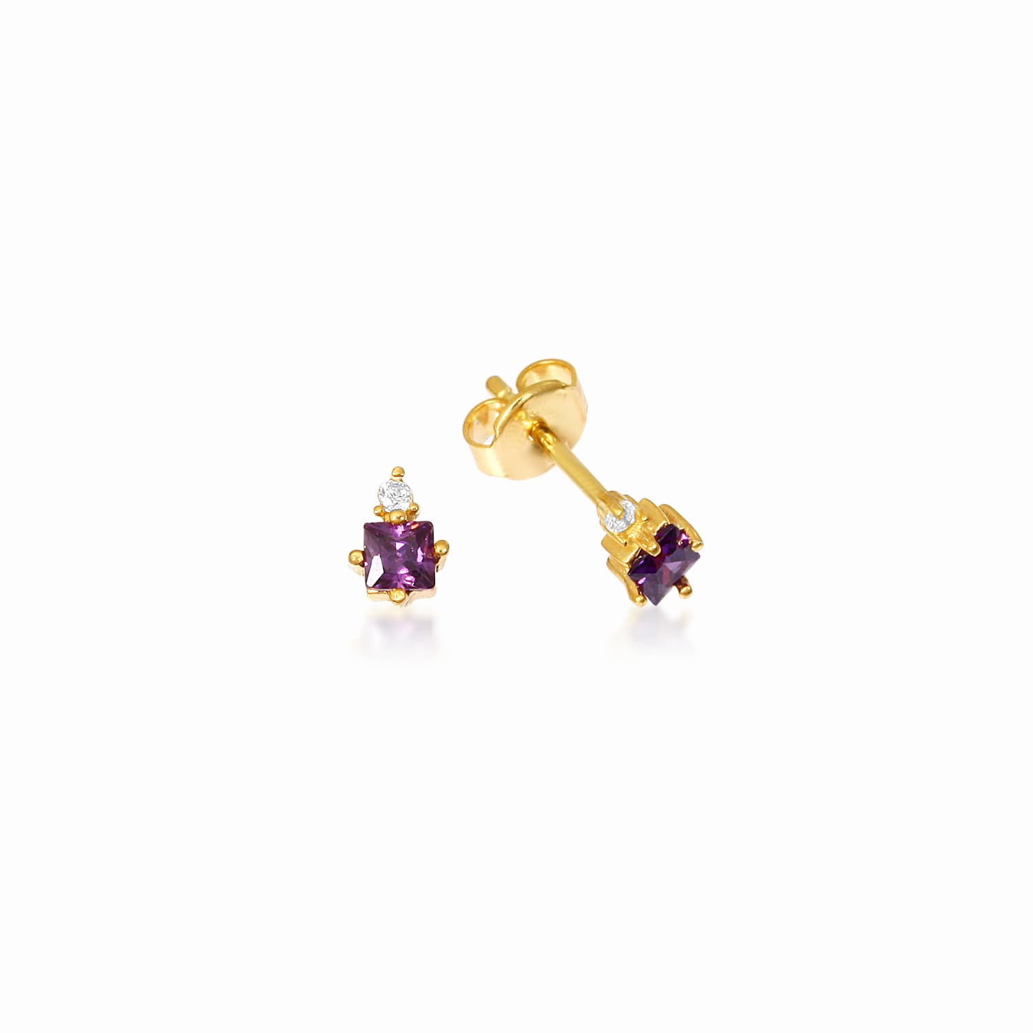 GRACE EARRING PURPLE