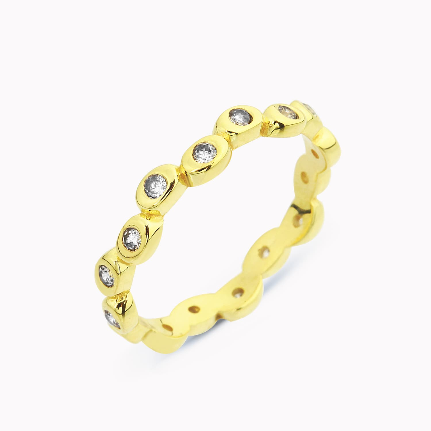 ASIMETRIC DOTS RING