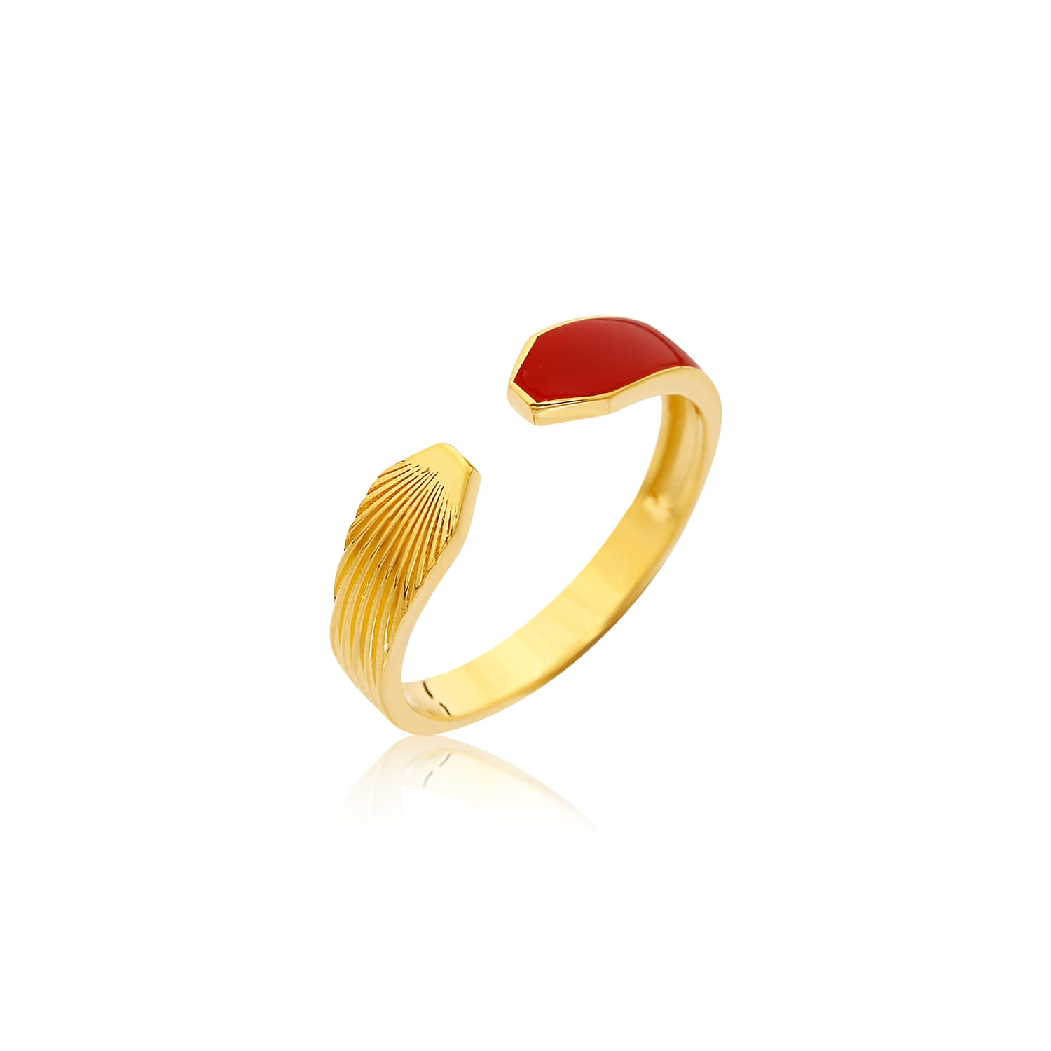 RED MINE MINI RING