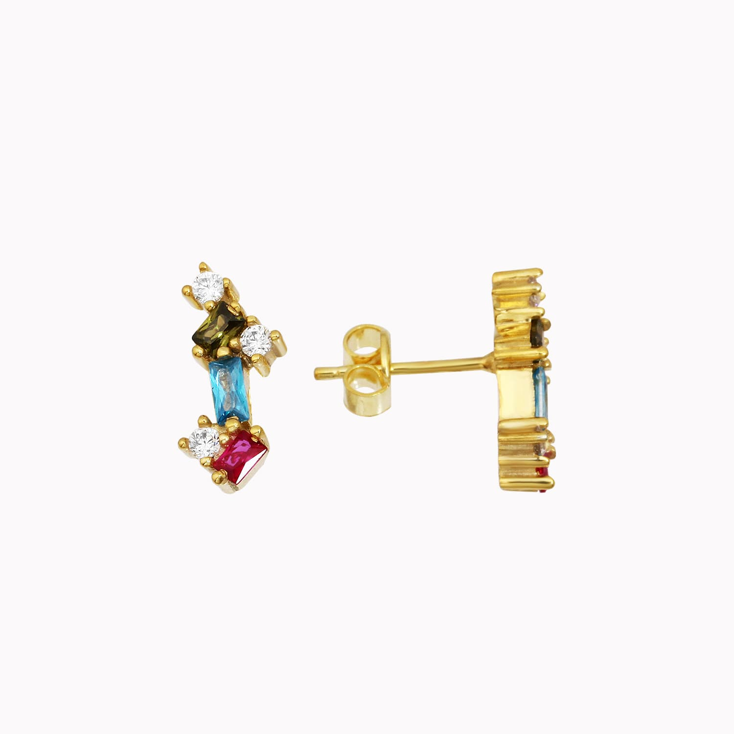 Sugar Mini Trio - Gold Plated Earrings