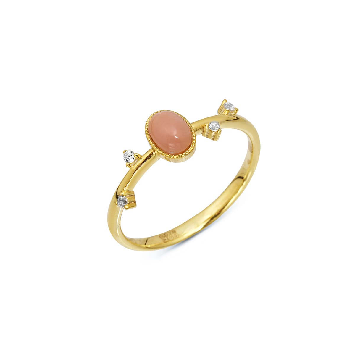 FLOW CORAL RING