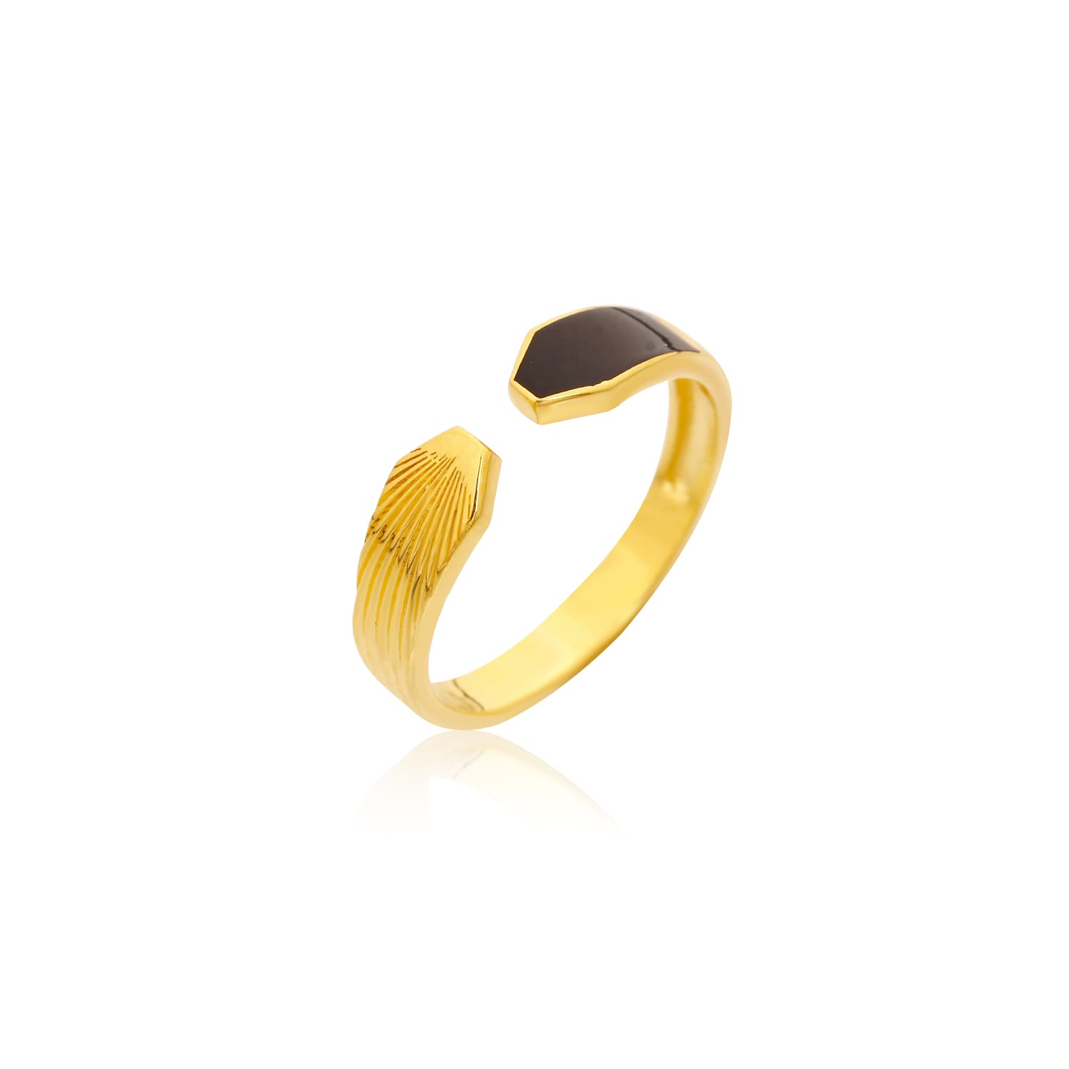 BLACK MINE MINI RING