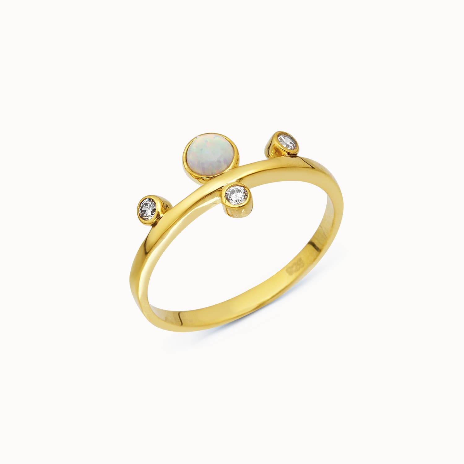 Ouzi - Gold Plated Ring