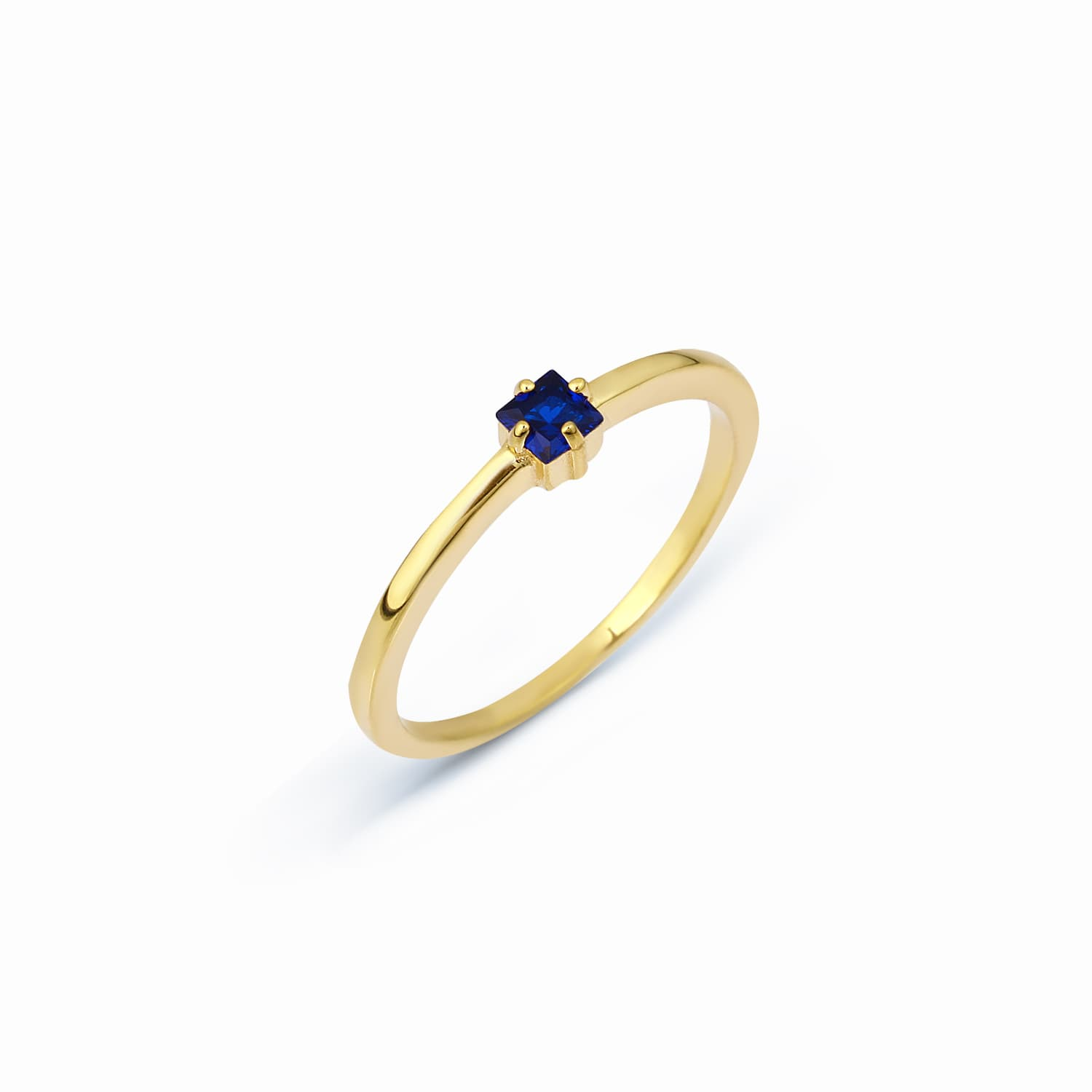 SOLO RING NAVY BLUE