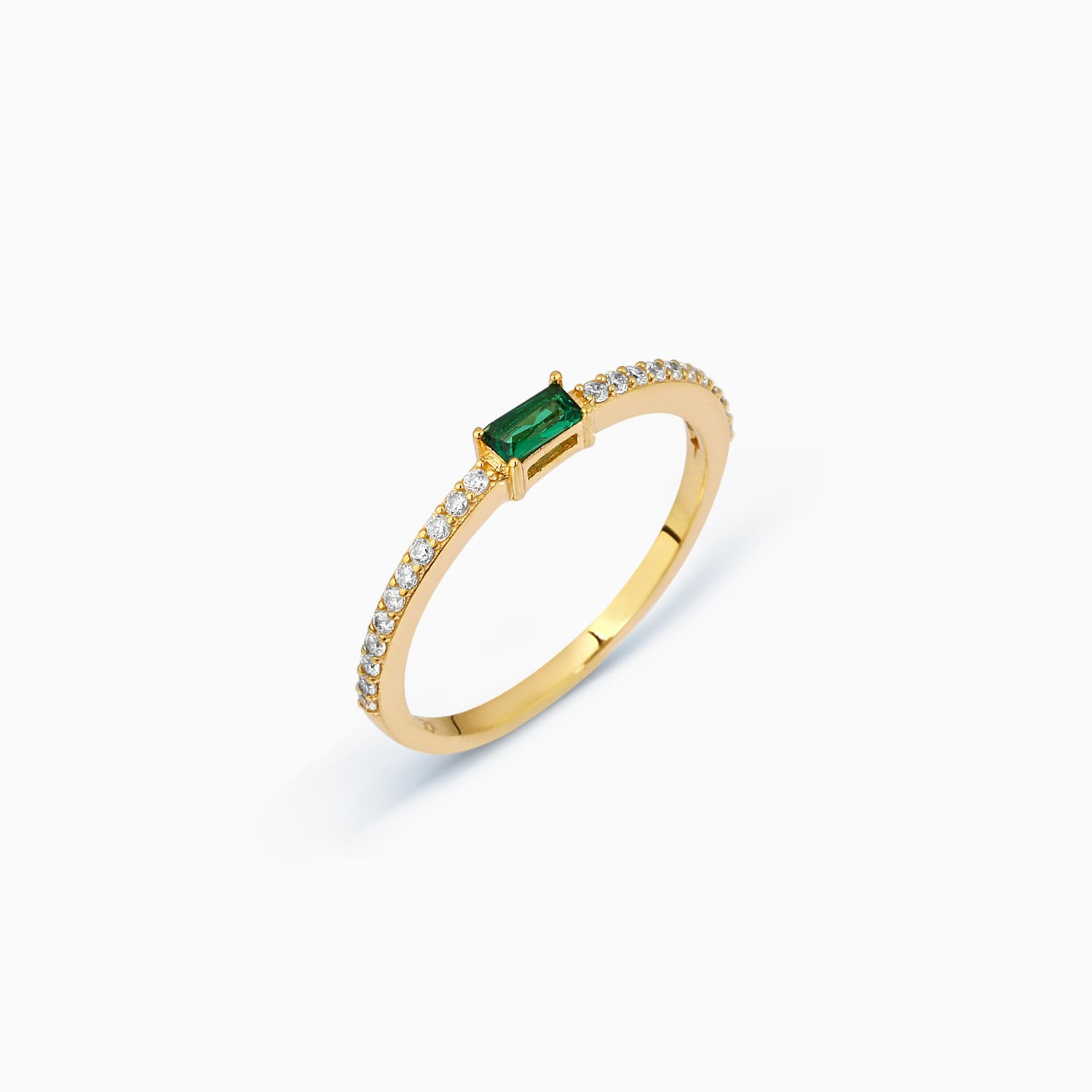 LUCY RING GREEN