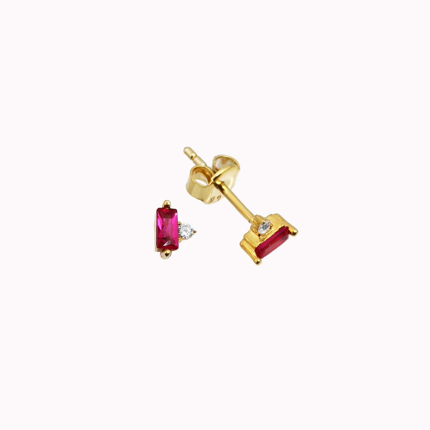 BONS EARRINGS PINK