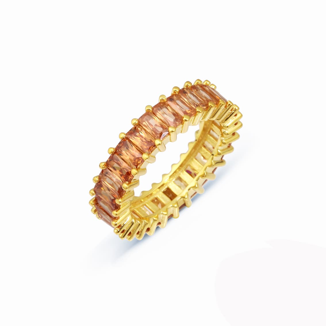Gold plated sterling silver ring models