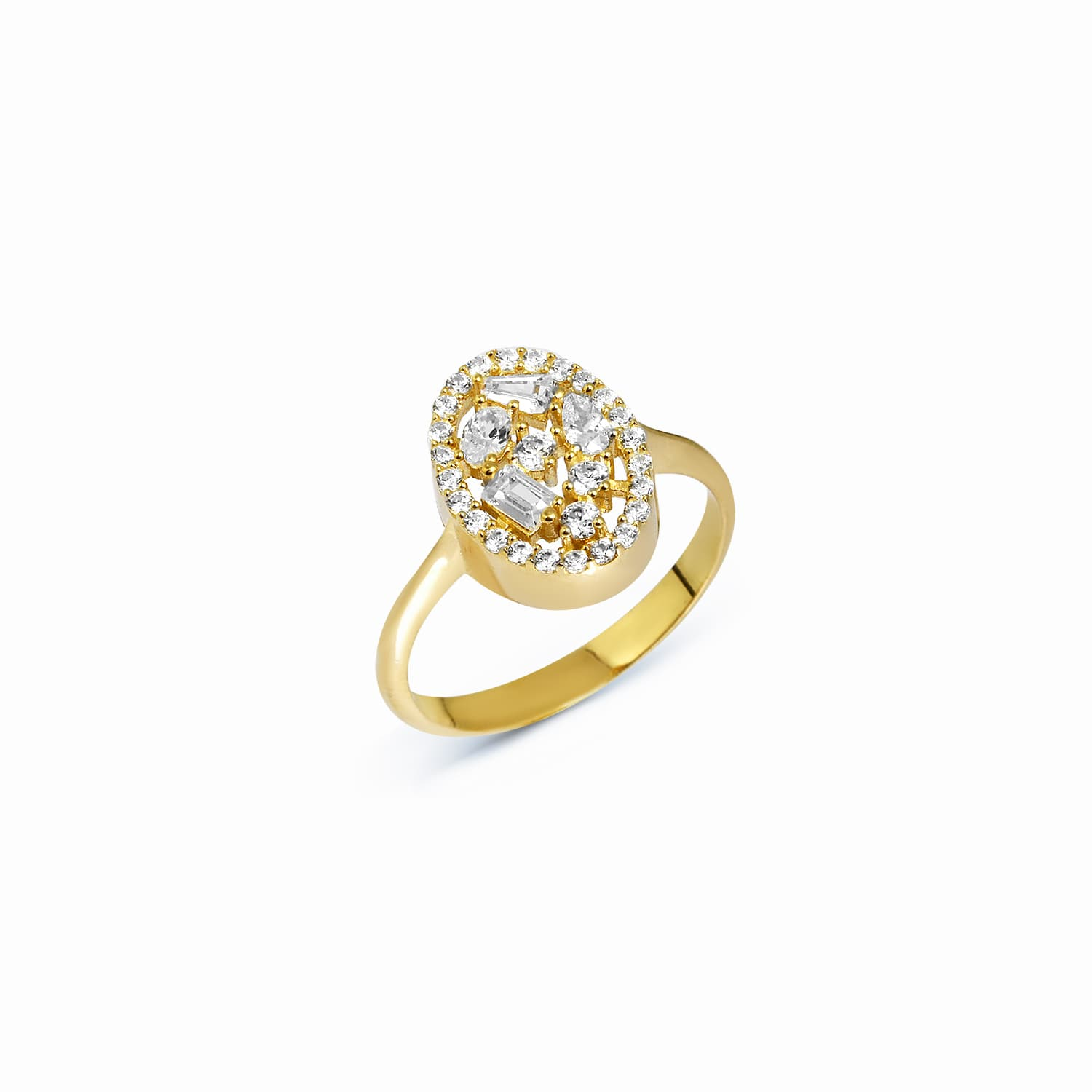 OVAL BAGET RING