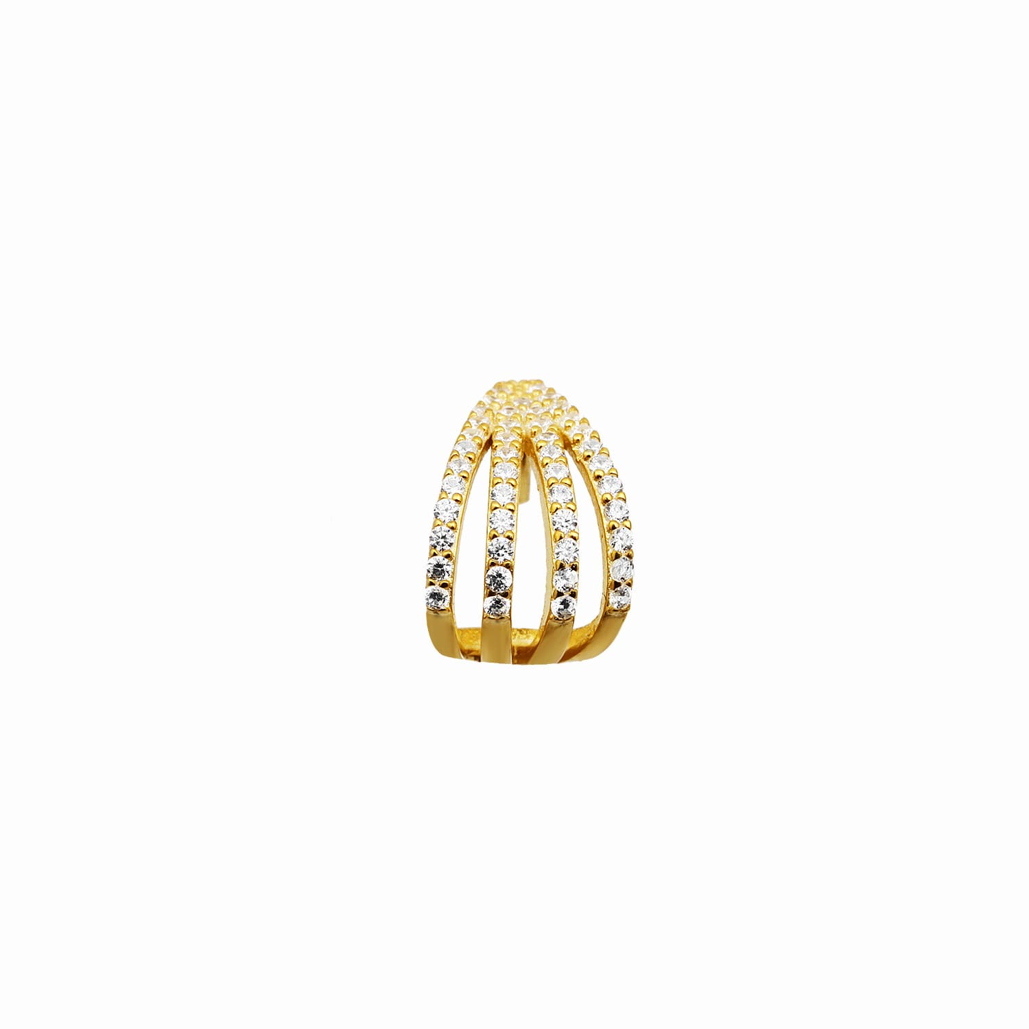 Berbe - Gold Plated Ring
