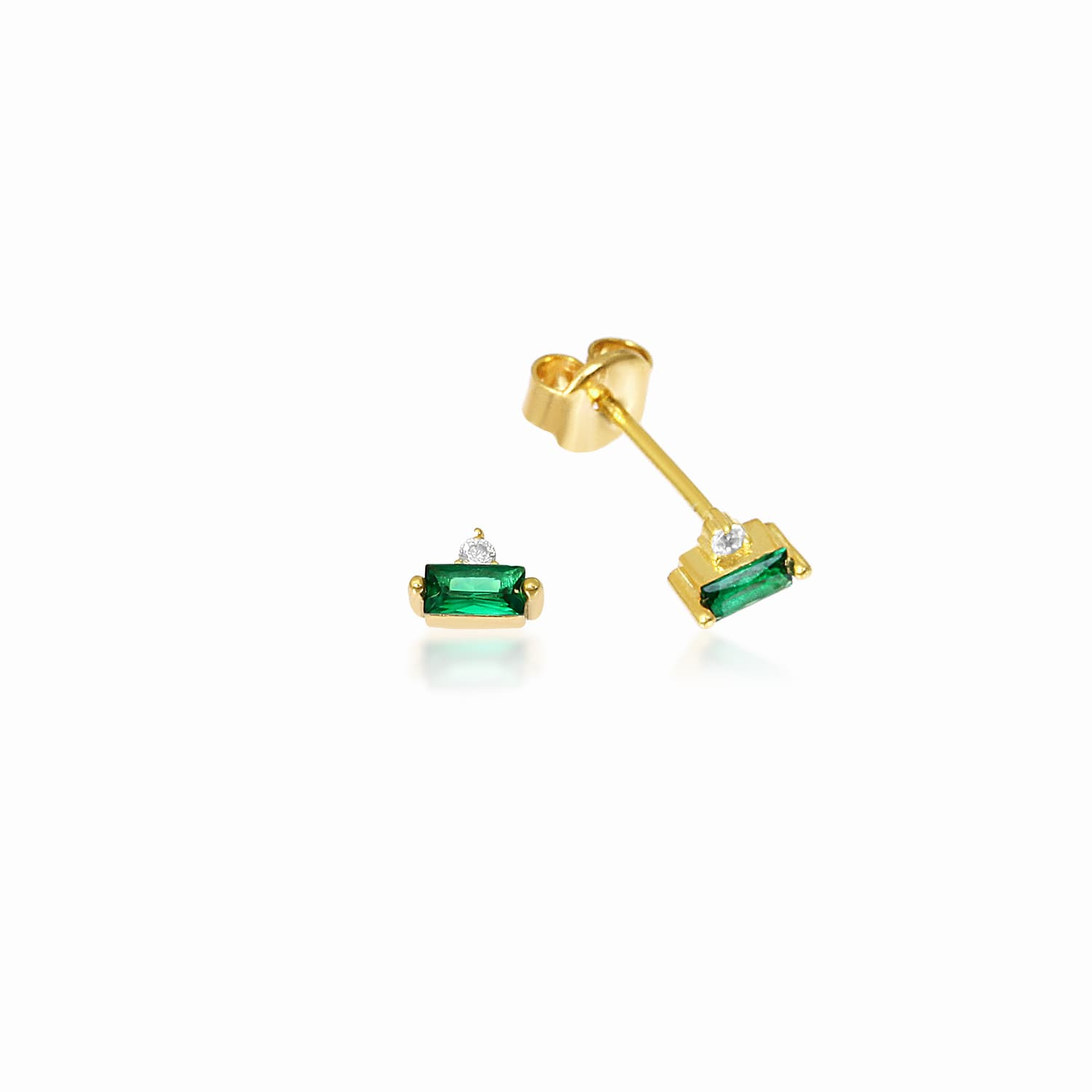 BONS EMERALD EARRINGS