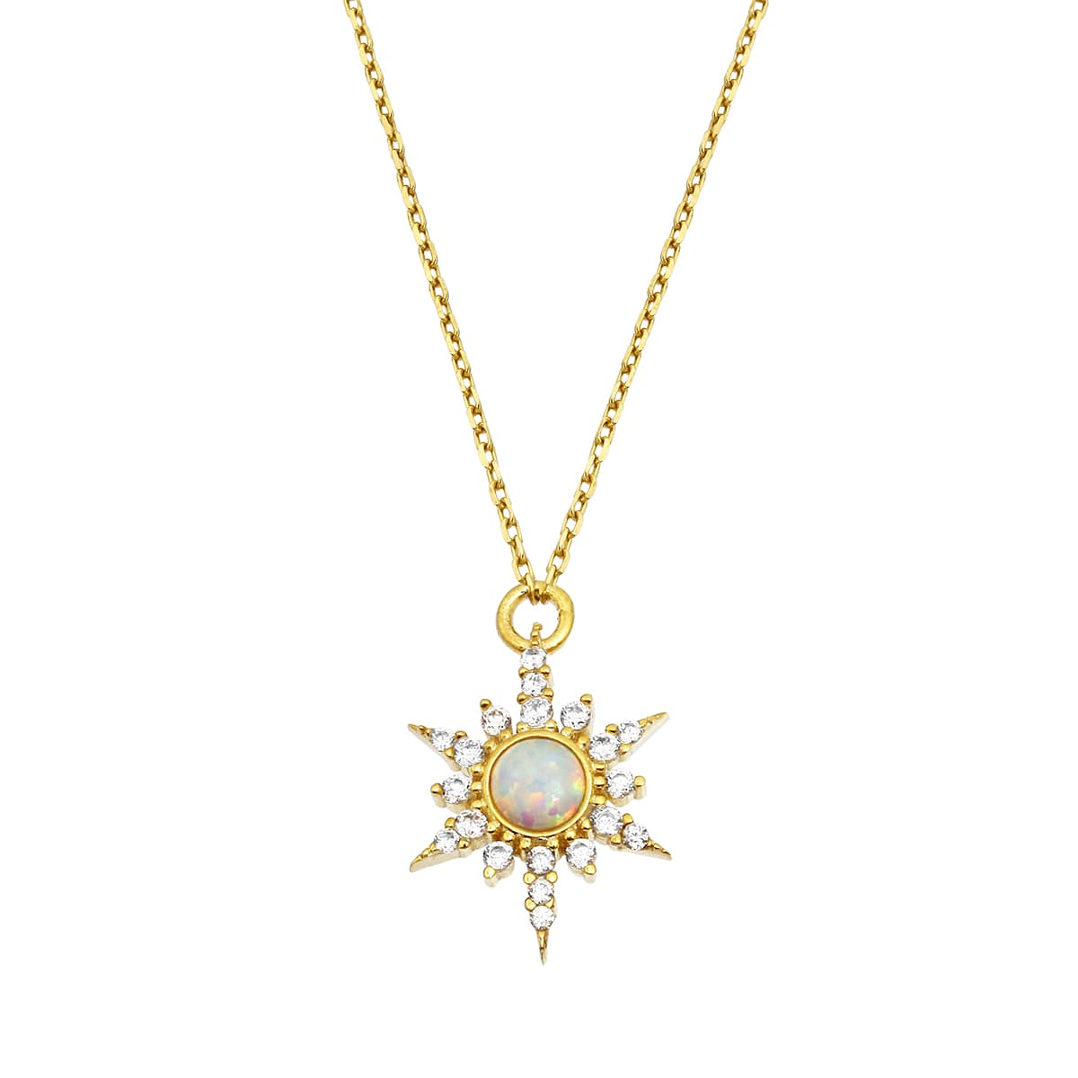 OPAL NORTH STAR NECKLACE