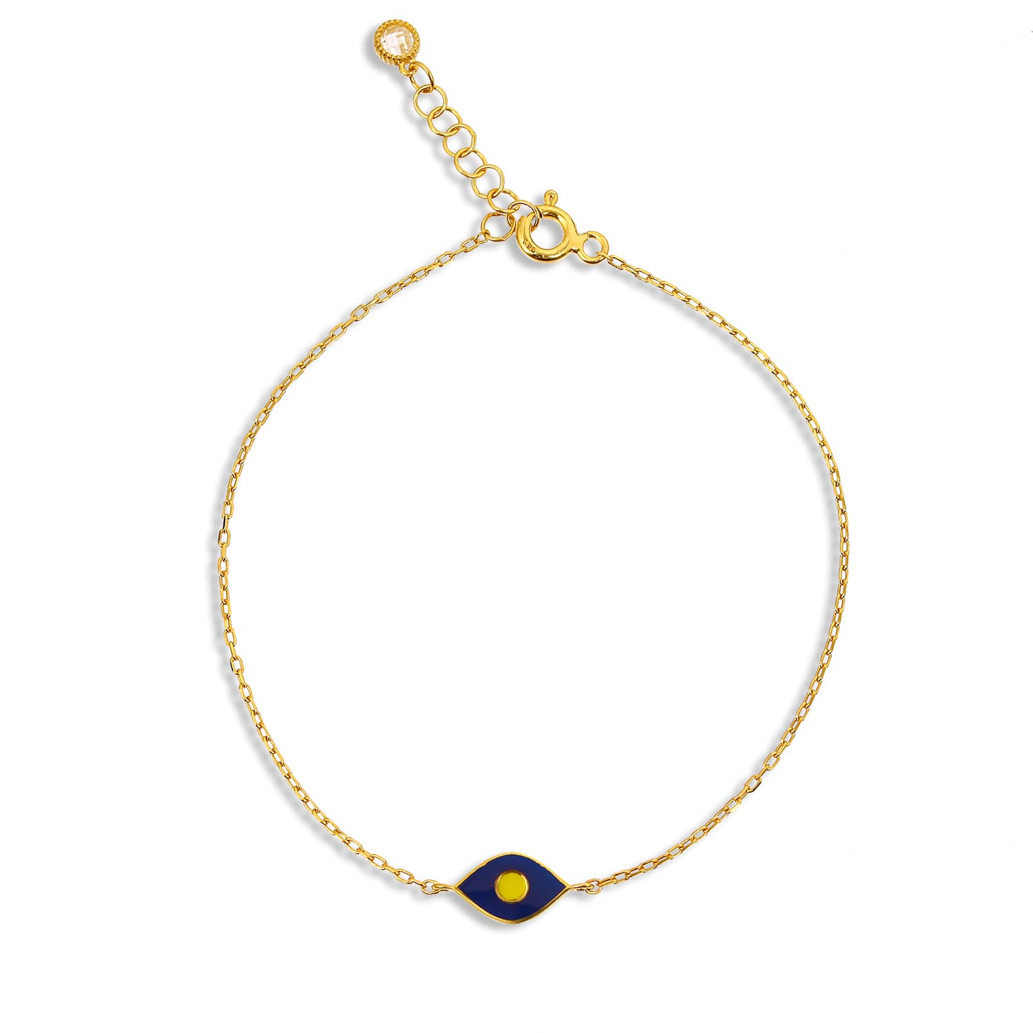 Gold plated enamel bracelet models