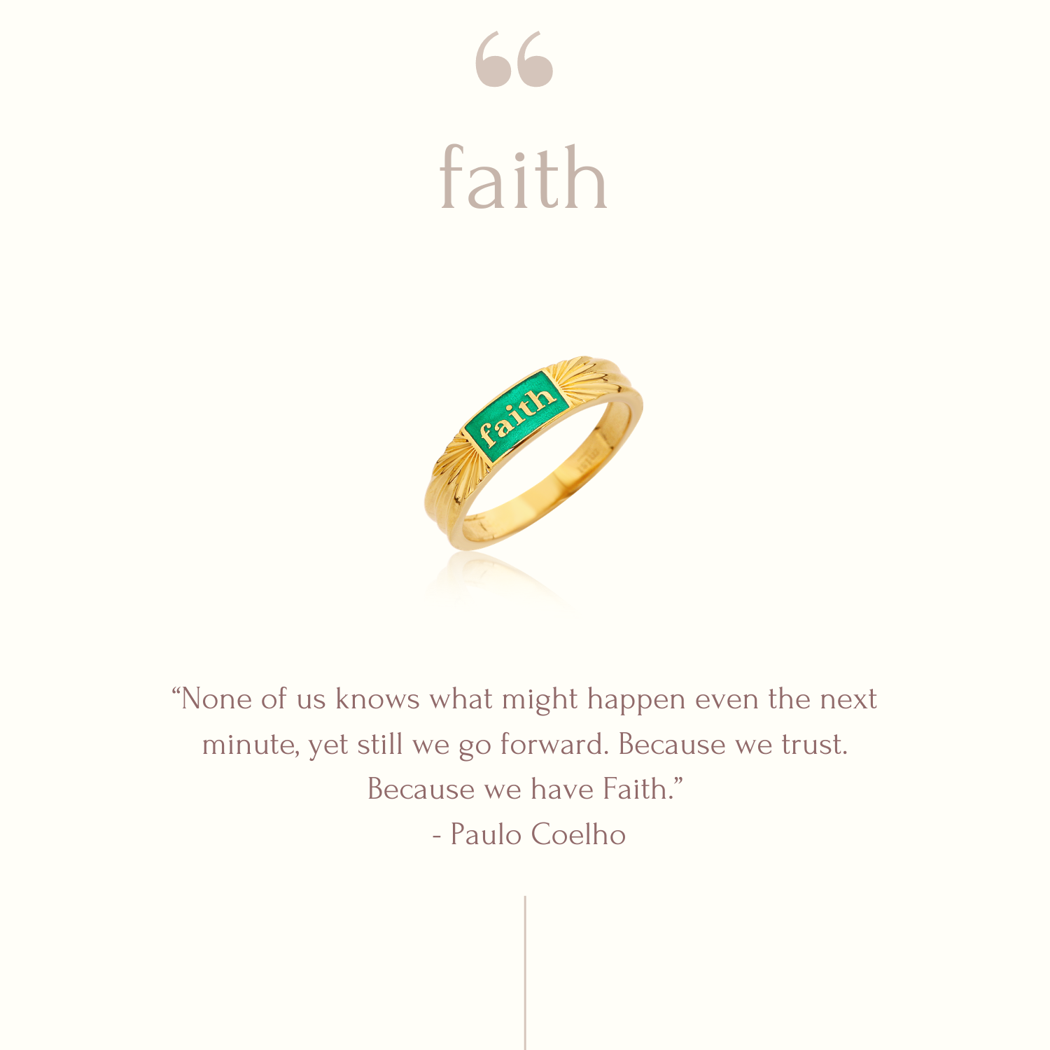 FAITH MINE RING