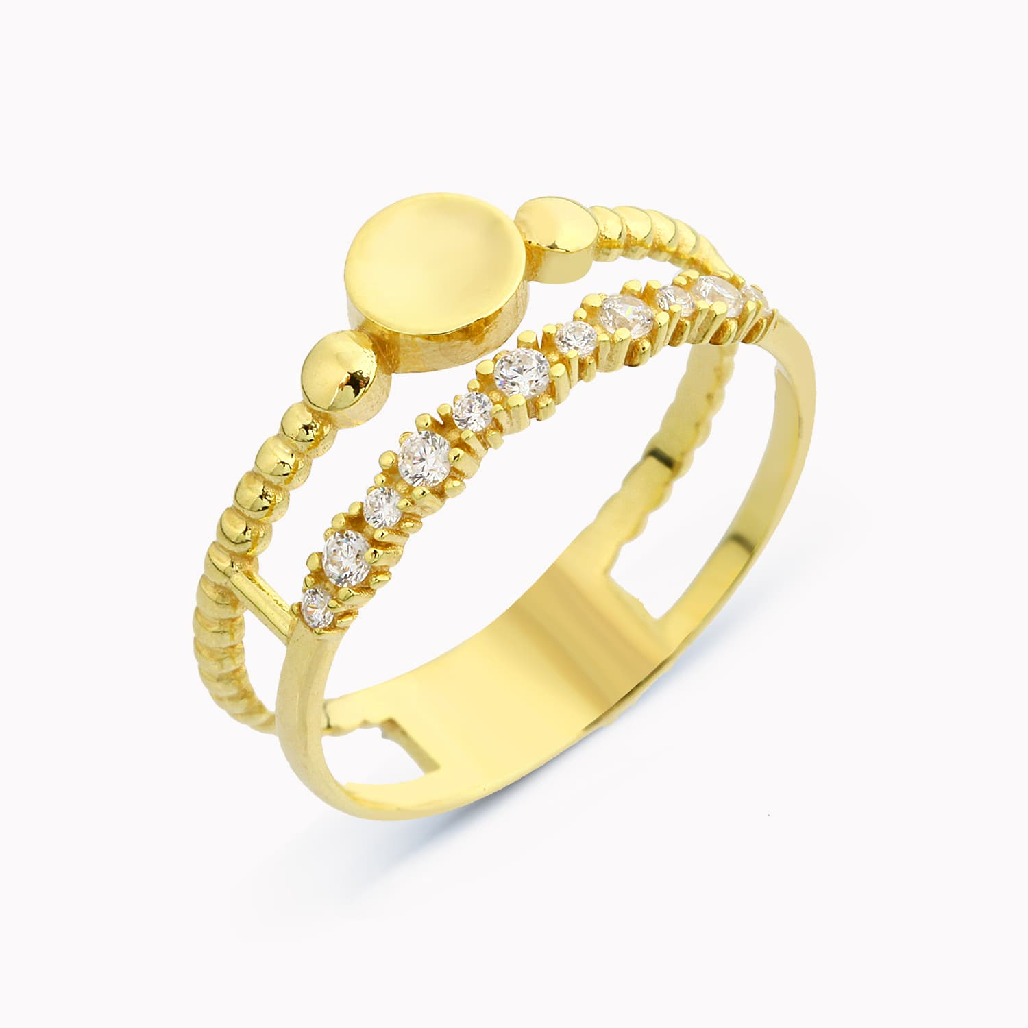 BON DOUBLE BAND RING