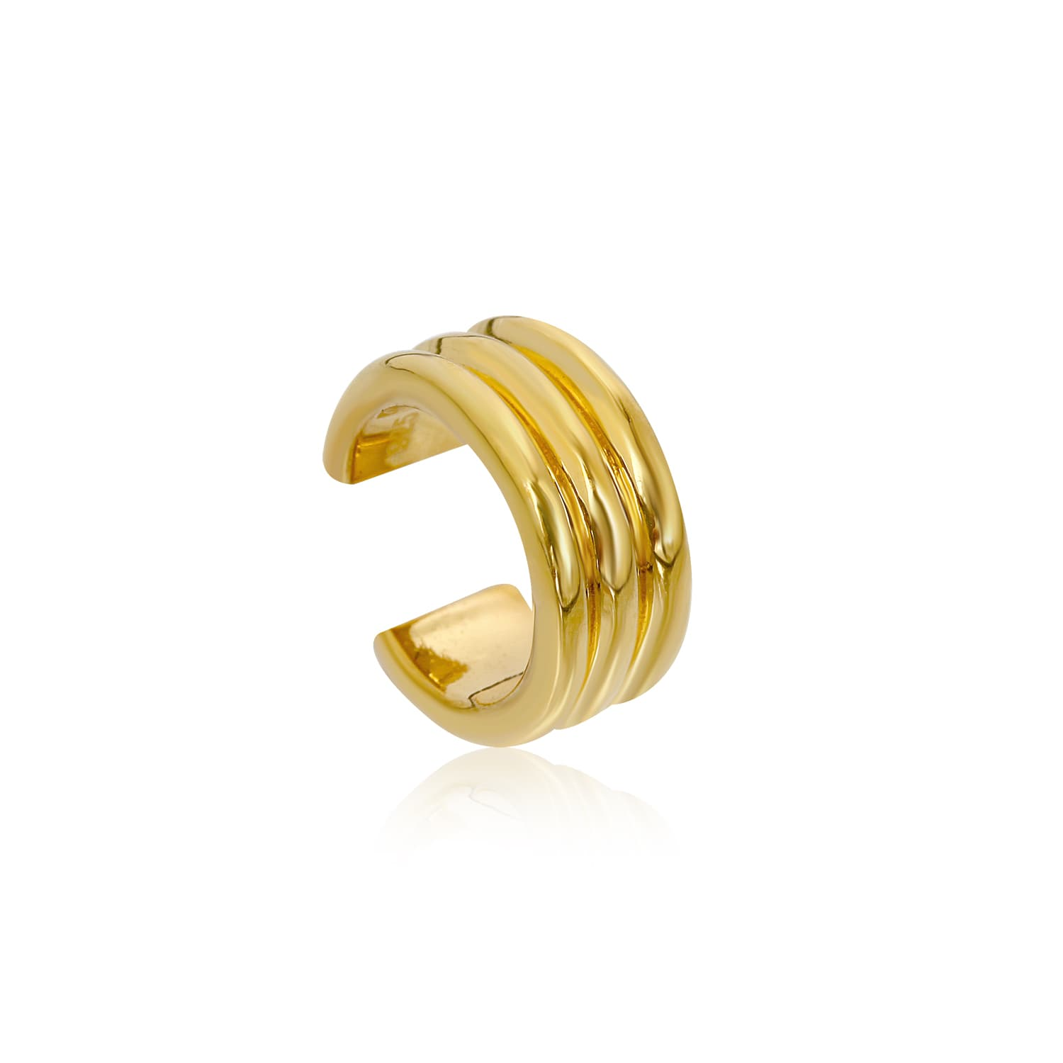 24 carat gold plated silver ring models without stone