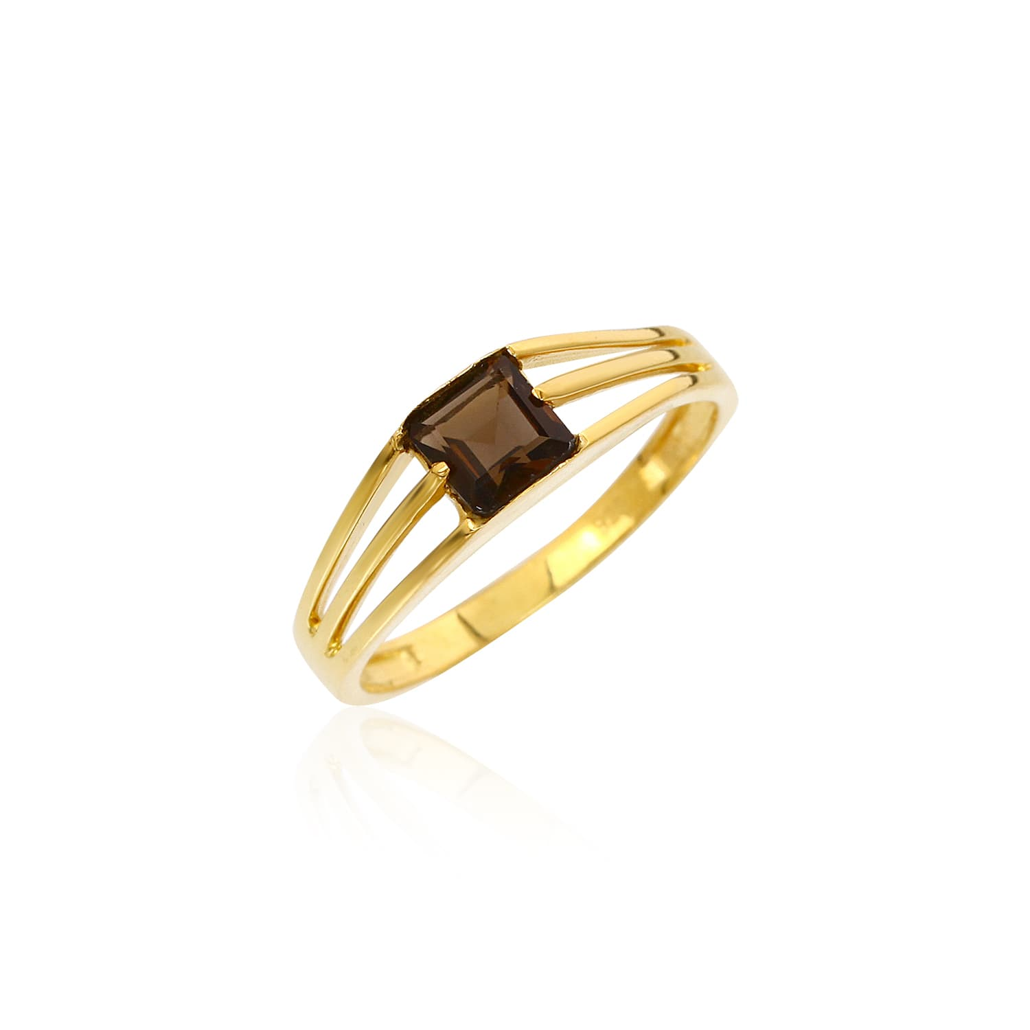 BETH SMOKE QUARTZ RING