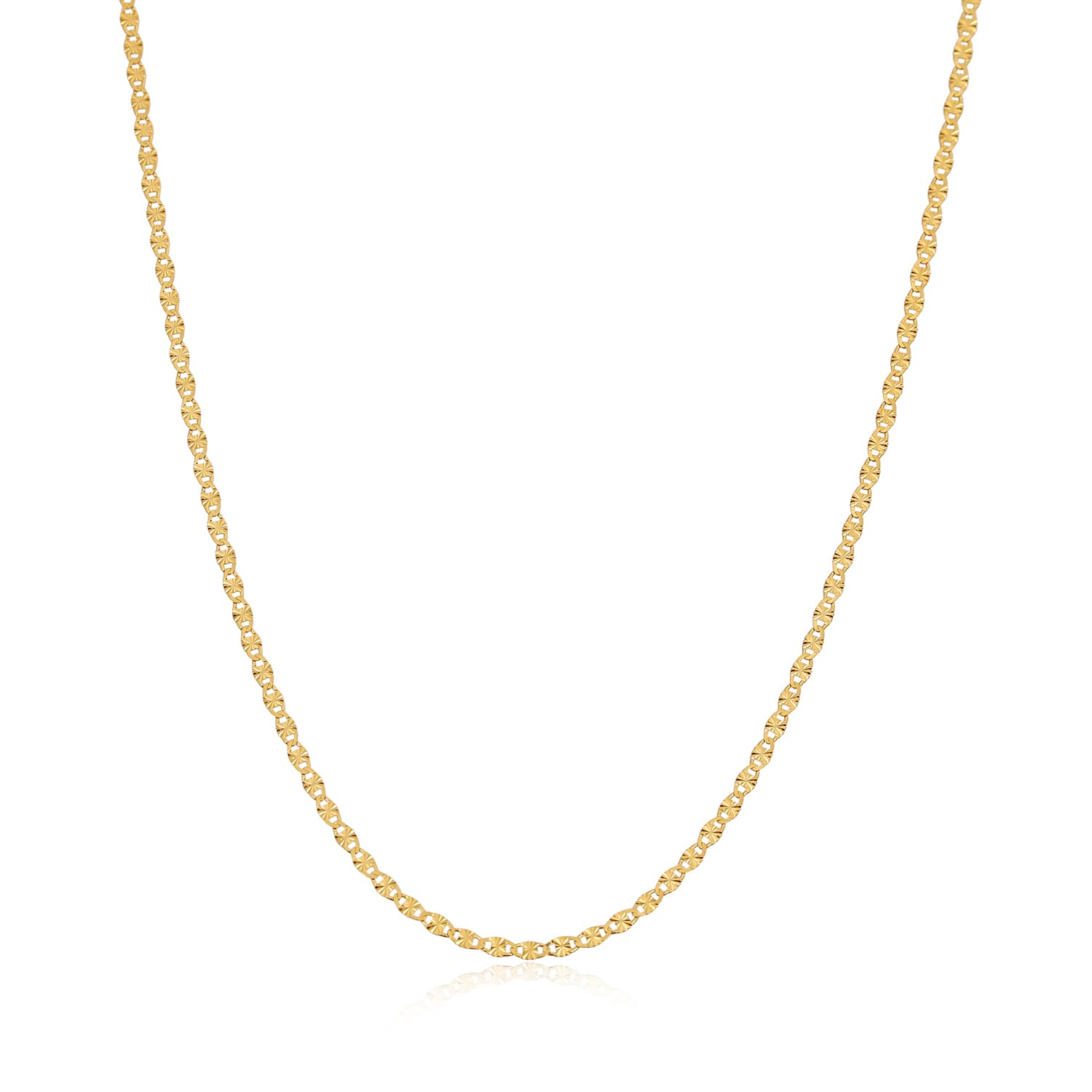 Gold plated chain models