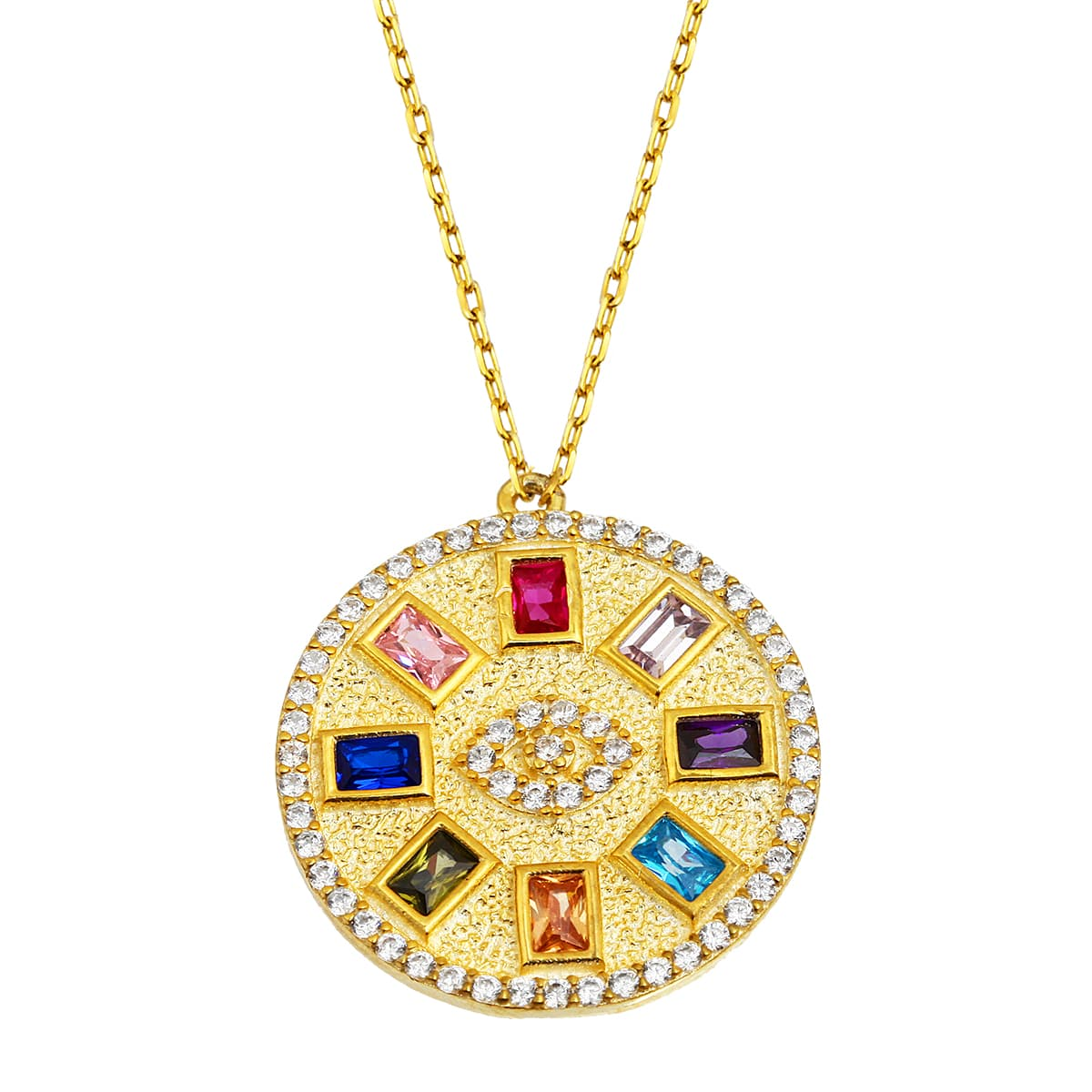 Gold plated necklace models