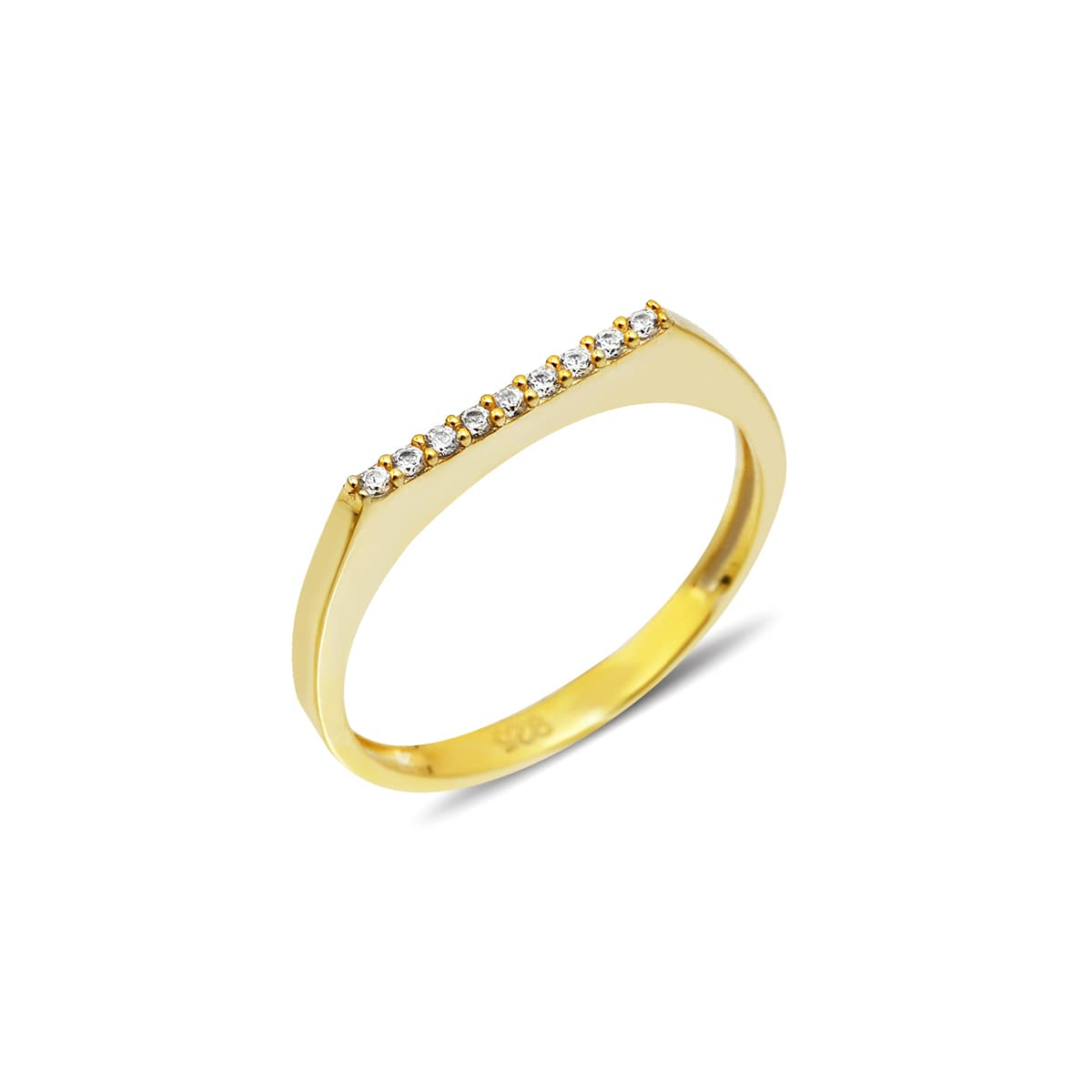PAVE SIDE RING