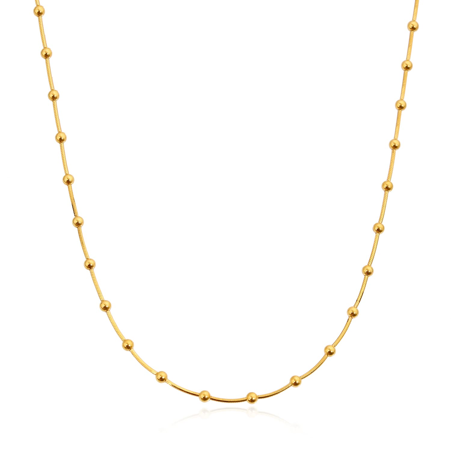 gold plated bulk chain