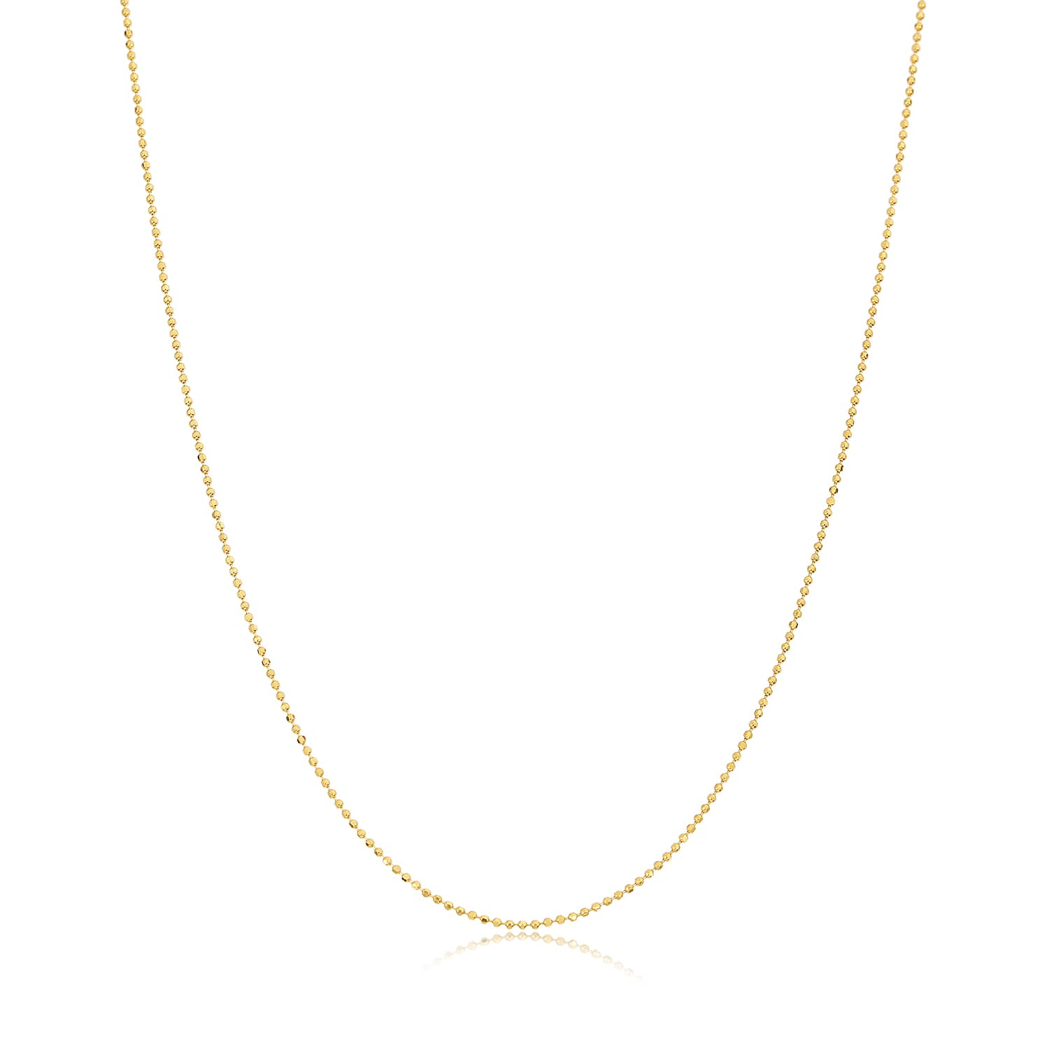 24 carat real gold plated silver chain models