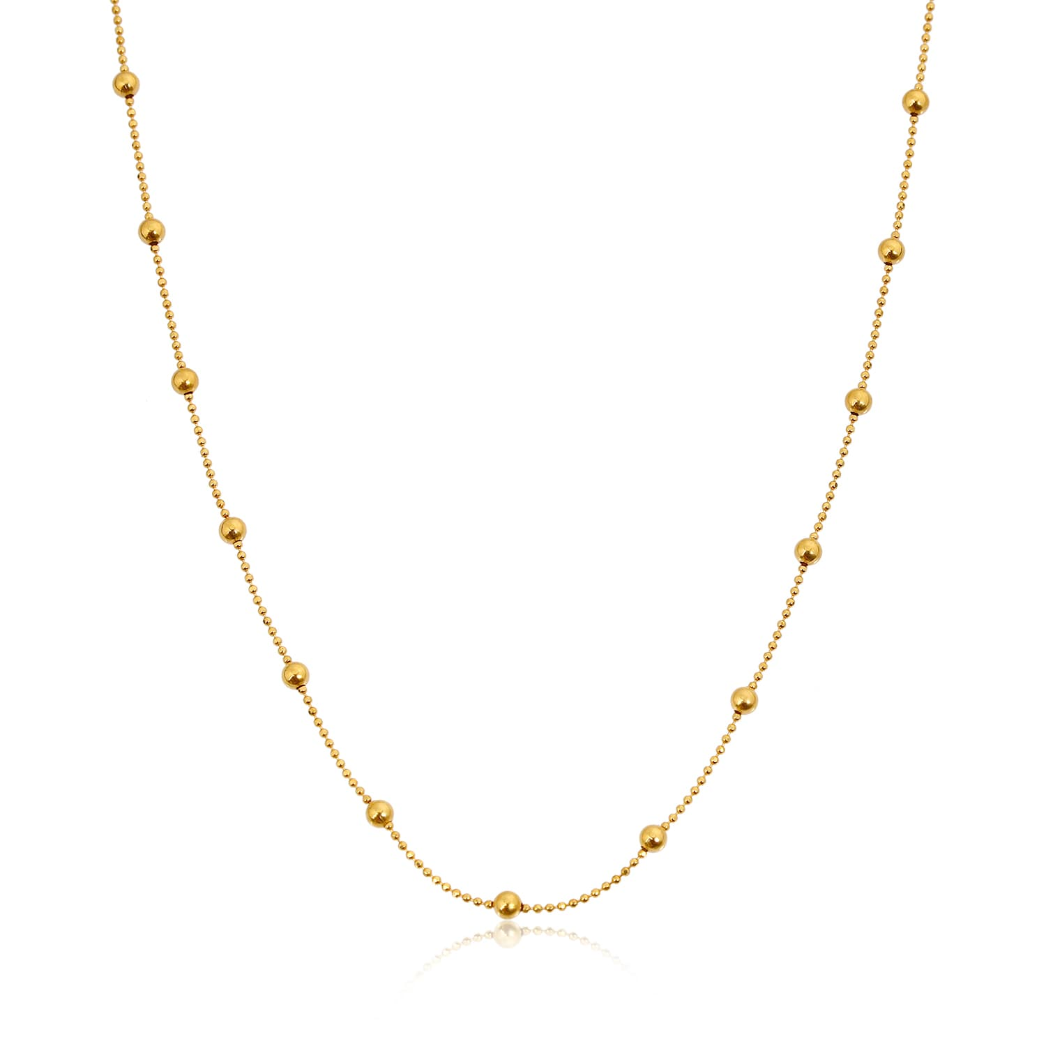 24 carat real gold plated chain models in silver