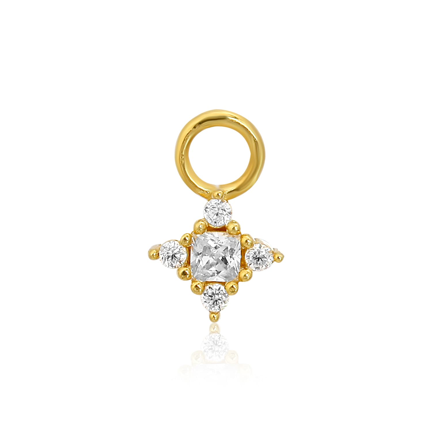 Gold plated charm models