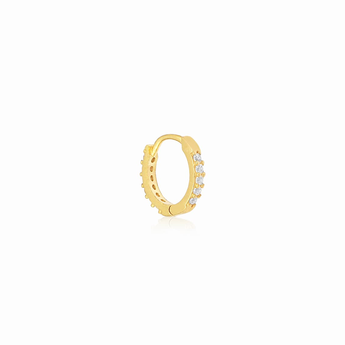 Gold plated cartilage earring models