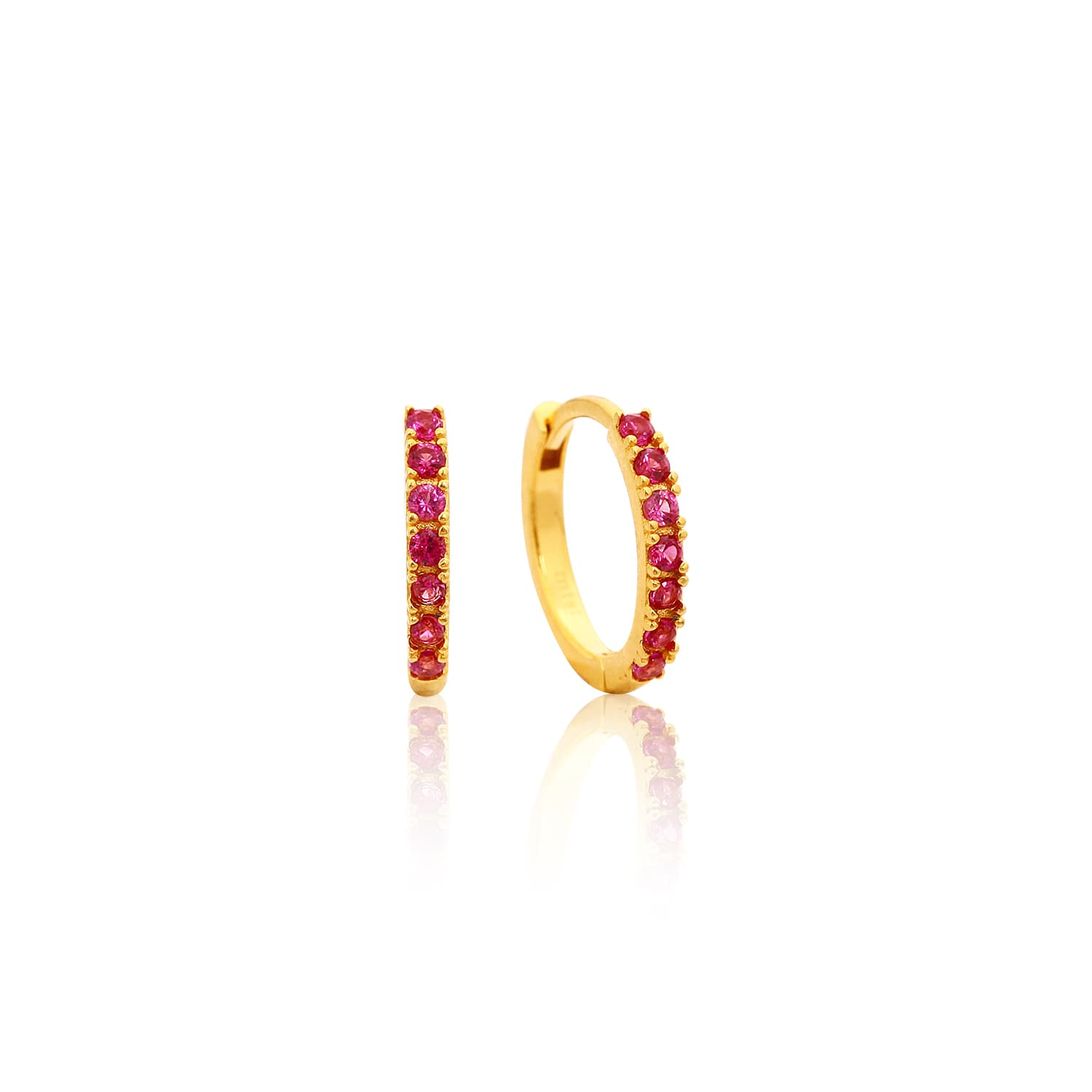 MINI RING EARRING ROZ