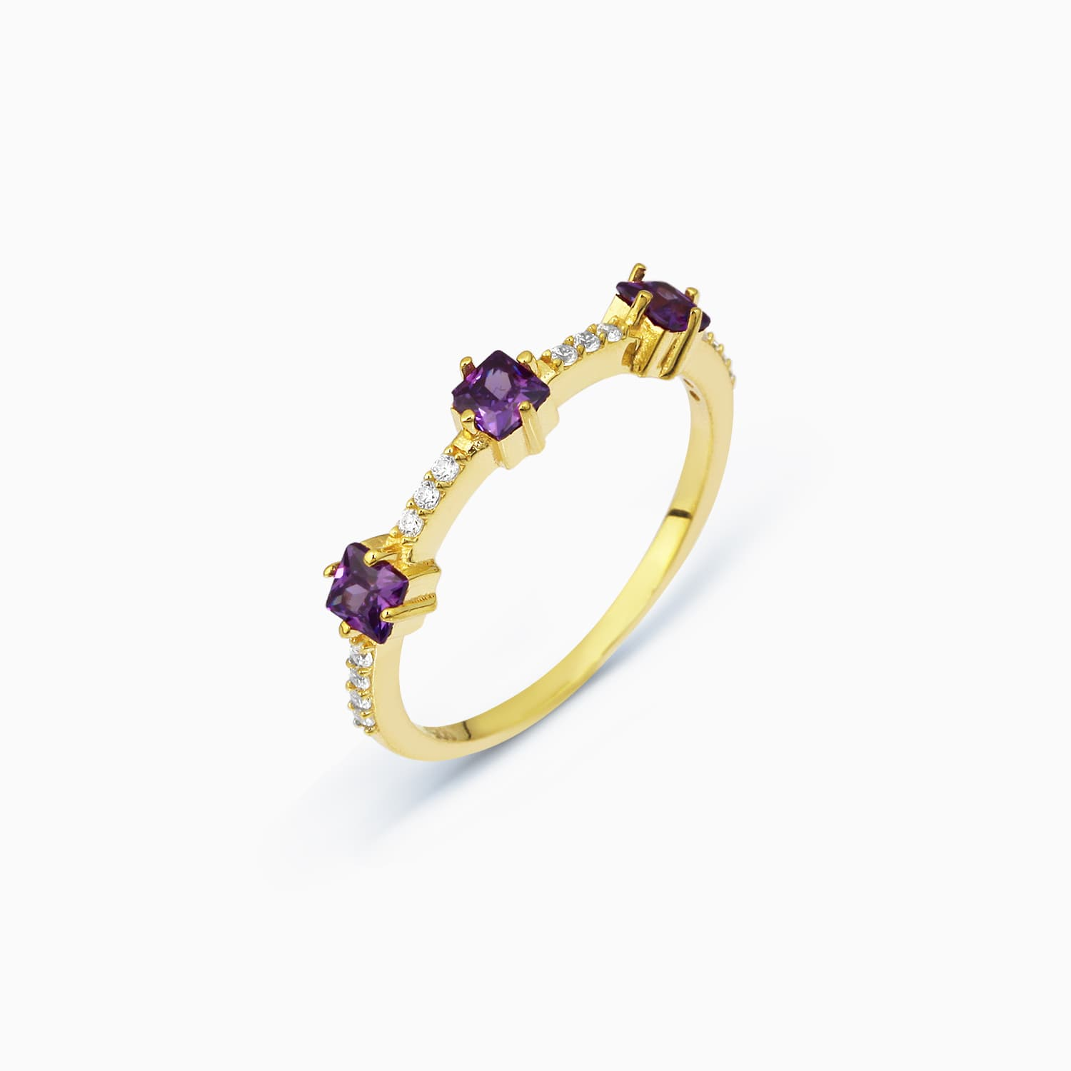 BONS PURPLE RING