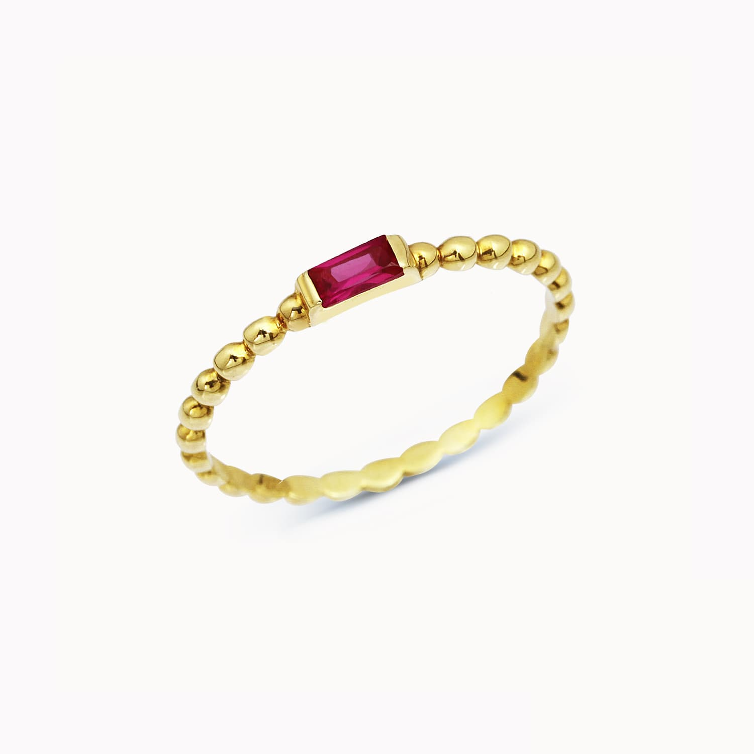 Serfe Colorful Stone Ring - Ros