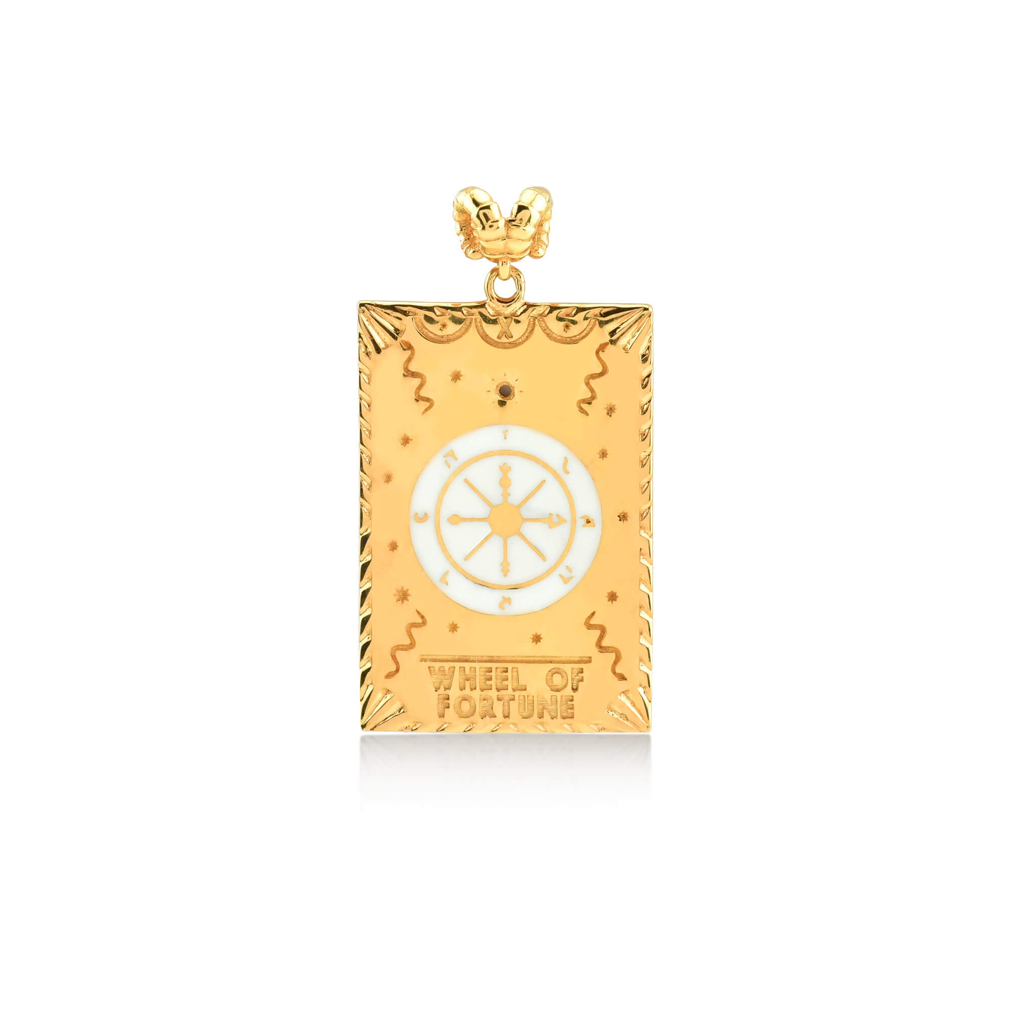 WHEEL OF FORTUNE TAROT NECKLACE