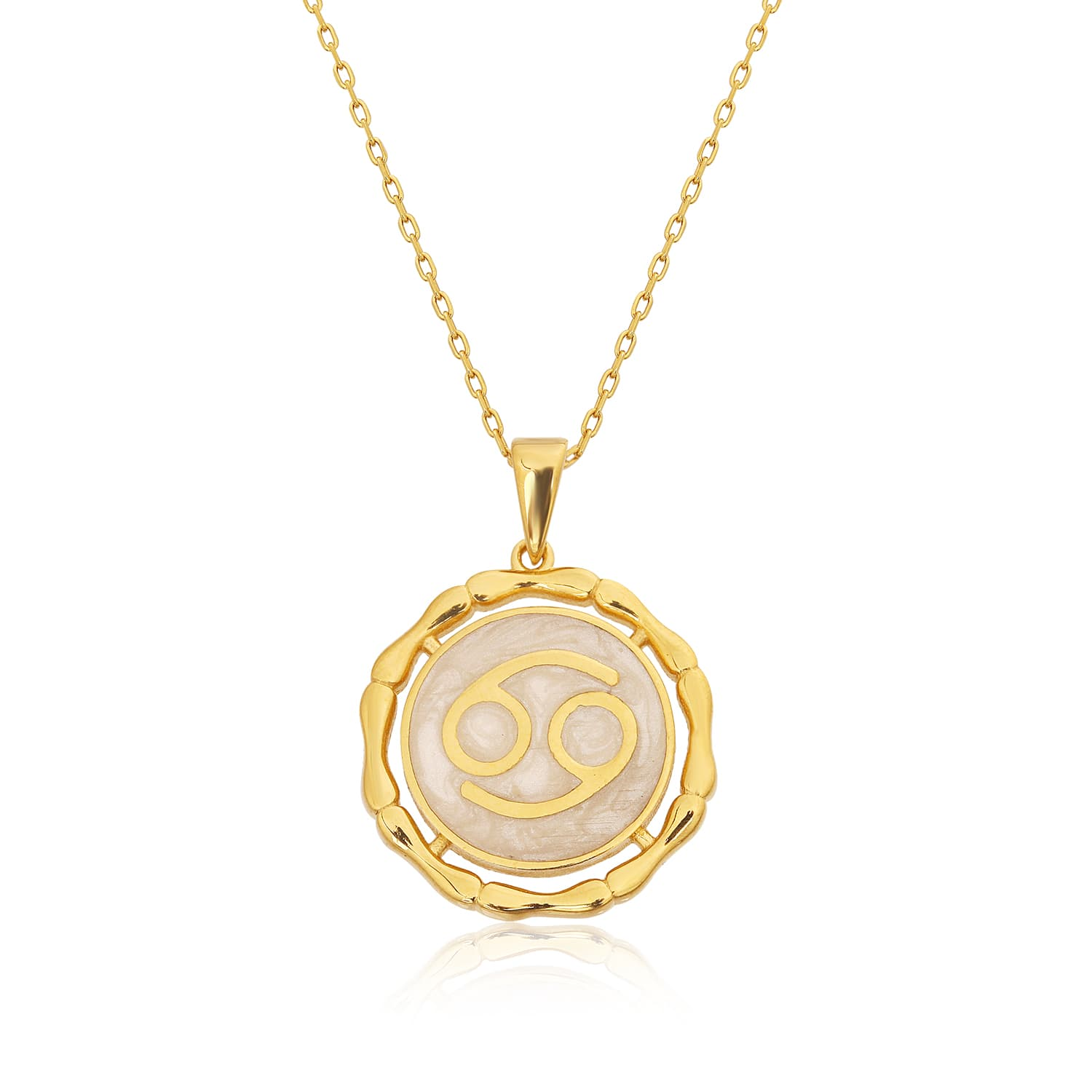 CANCER MINNED NECKLACE