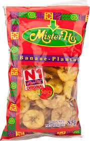Mister Ho Spicy Plantain Chips