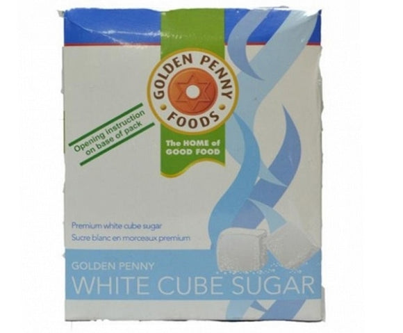 Golden Penny White Cube Sugar