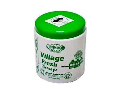Village Fresh Traditional Herbal Soap 500g Jar Avocado