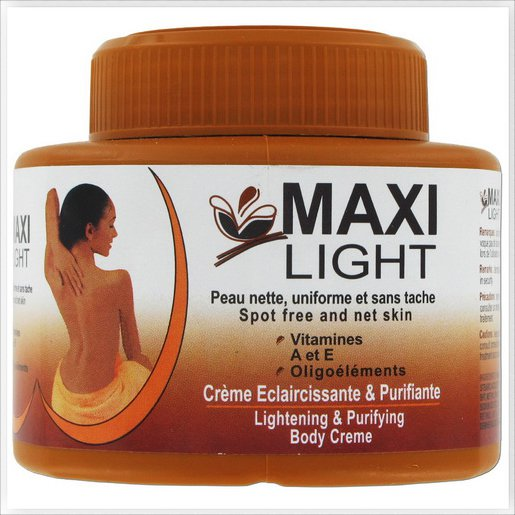 Maxi light LT and Purifying Body Cream 530ml