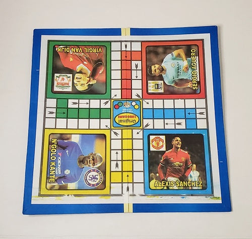Ludo Game Board and Pieces