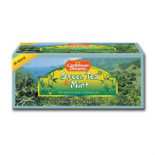Caribbean Dreams Green Tea Mint Tea